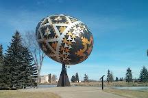 Vegreville Pysanka Egg, Vegreville, Canada