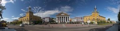 Драматический театр на фото Прокопьевска