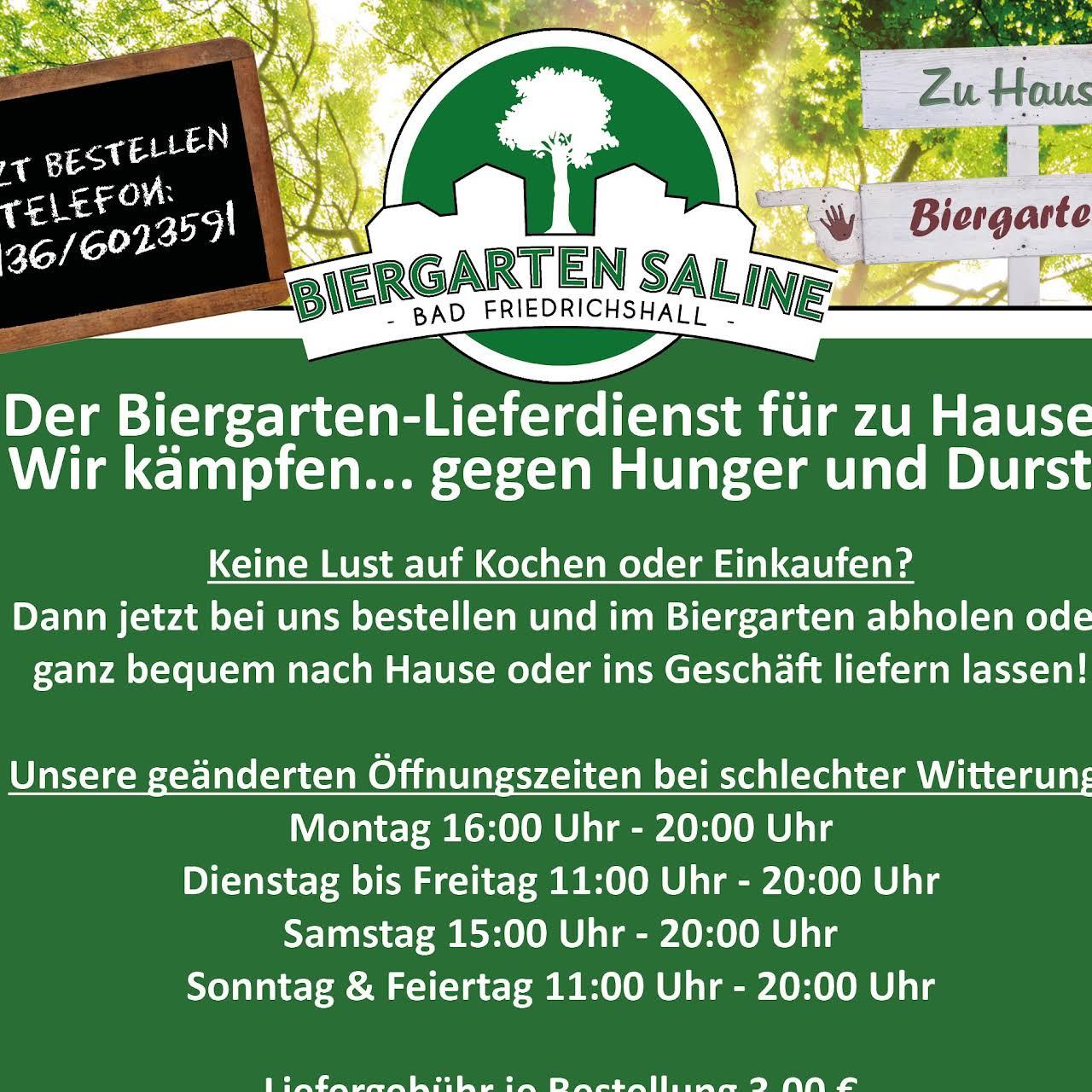 Biergarten Saline Wintergarten Saline Biergarten In Bad Friedrichshall