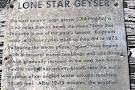 Lone Star Geyser