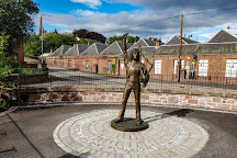 Bon Scott Statue, Kirriemuir, United Kingdom