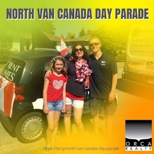 North Van Canada Day Parade