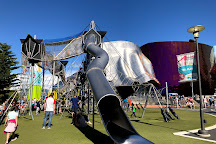 Artist at Play Playground at Seattle Center, Seattle, United States