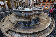 Fontana in Piazza Colonna, Rome, Italy