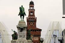 Monumento a Giuseppe Garibaldi, Milan, Italy