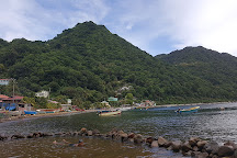 Bubble Beach Spa, Soufriere, Dominica
