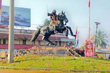 Kittur Rani Channamma Circle, Hubli-Dharwad, India