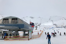 The Remarkables Ski Area, Queenstown, New Zealand