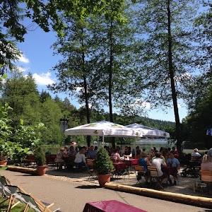 Biergarten am Ebnisee ( Waldschänke )