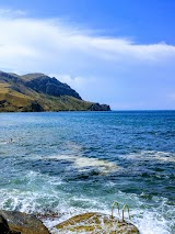 Пляж на мысе Меганом около Судака