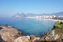 Estatua Carlos Drummond de Andrade, Rio de Janeiro, Brazil