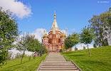 Свято-Михайловский собор, улица имени Вадима Сивкова на фото Ижевска