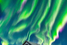 Aurora Borealis, Borgarnes, Iceland