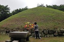 Royal Tomb of Queen Seondeok, Gyeongju, South Korea