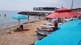 Пляж на бульваре Променад в Одессе