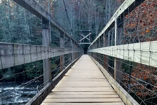 Visit Toccoa River Swinging Bridge On Your Trip To Blue Ridge