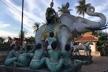 Damrei Sa Pagoda, Battambang, Cambodia