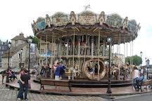Carrousel a Honfleur, Honfleur, France