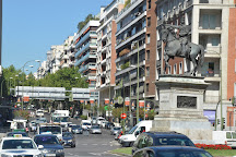 Monumento al Marques del Duero, Madrid, Spain