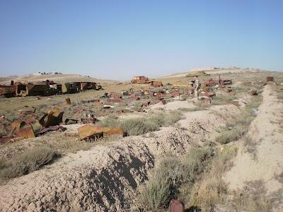 Soviet Tank Graveyard