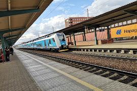 Железнодорожная станция  Pardubice hl. nádraží