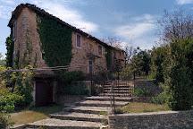 Medieval castle Simiane-la-Rotonde, Simiane-la-Rotonde, France