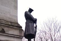 Euston War memorial, London, United Kingdom