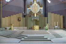 Eglise Sainte-Bernadette, Lourdes, France
