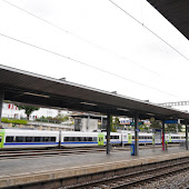 Train Station  Spiez