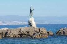 Maiden With The Seagull, Opatija, Croatia