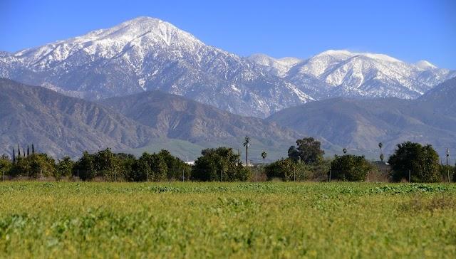 Montagnes de San Bernardino