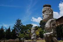King Siallagan's Stone Chair, Ambarita, Indonesia
