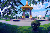Statue of King Father Norodom Sihanouk, Phnom Penh, Cambodia