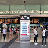 Железнодорожная станция  станции  Milano P.Garibaldi