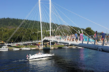 Ypsilon Bridge, Drammen, Norway