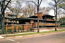 Frank Lloyd Wright's Robie House, Chicago, United States