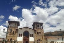Plaza Mayor de Chacas, Chacas, Peru