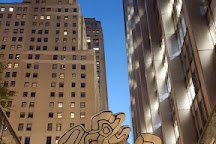 Jean Dubuffet - Group of Four Trees, New York City, United States