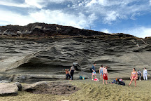 Papakōlea Green Sand Beach, Naalehu, United States
