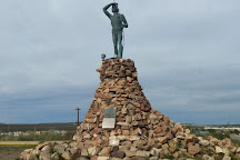 Monumento al Indio Tehuelche, Puerto Madryn, Argentina