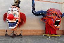 Cittadella del Carnevale, Viareggio, Italy