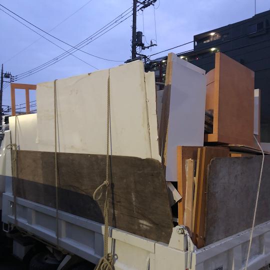 板橋区西台  タンス解体処分