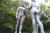 Statue of Maidens, Towada, Japan