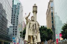 Jorge Alvares Monument, Macau, China