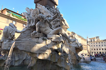 Fontana del Moro, Rome, Italy
