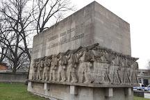 Kriegerdenkmal am Dammtordamm, Hamburg, Germany