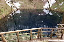 Blue Pond, Fukaura-machi, Japan