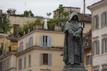 Statua di Giordano Bruno, Rome, Italy