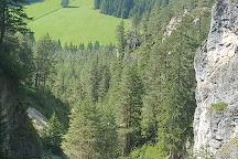Le Cascate di Ciastlins, San Vigilio, Italy