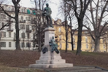 Monument Carlo di Robilant, Turin, Italy